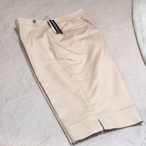 New Rafaella Stretch Nautical Shorts Sz10